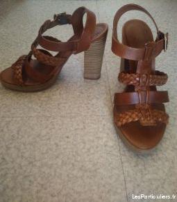 Chaussures été à talon