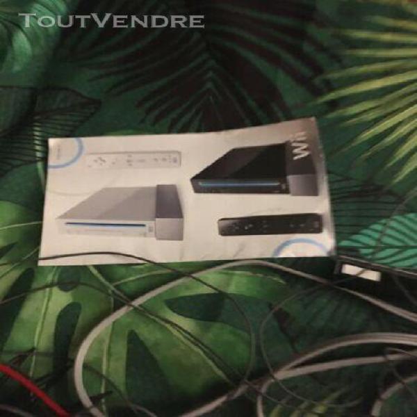Console de jeu wii sports avec manettes et câble en très