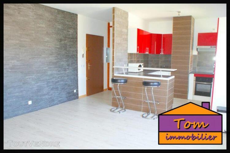 Forbach - appartement 49 m² - 2 pièces - 1 chambre.