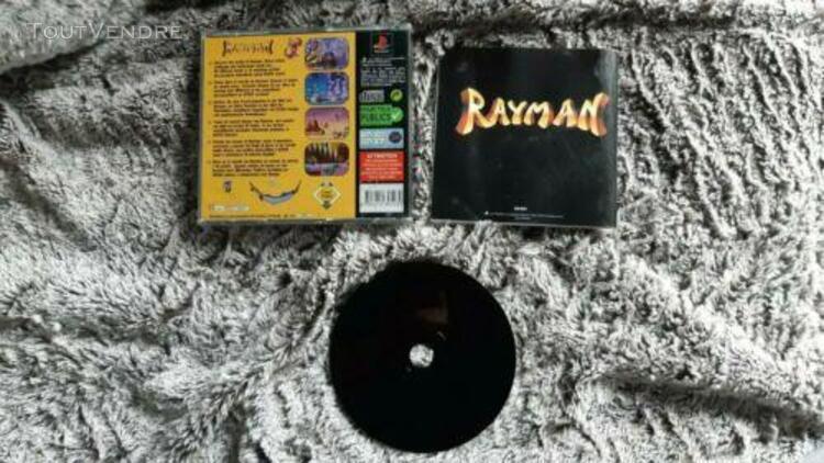 Jeu sony playstation 1 ps1 - rayman - complet - pal multilan