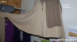 Liquidation vêtements fibres naturelles