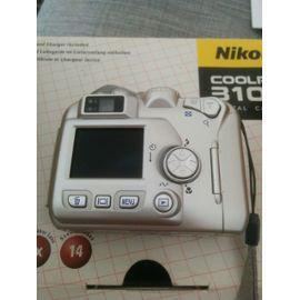 Nikon coolpix 3100 compact 3.2 mpix argent