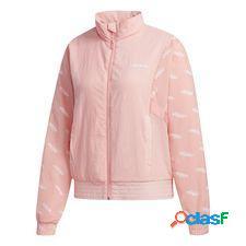 Veste de survêtement favorites rose