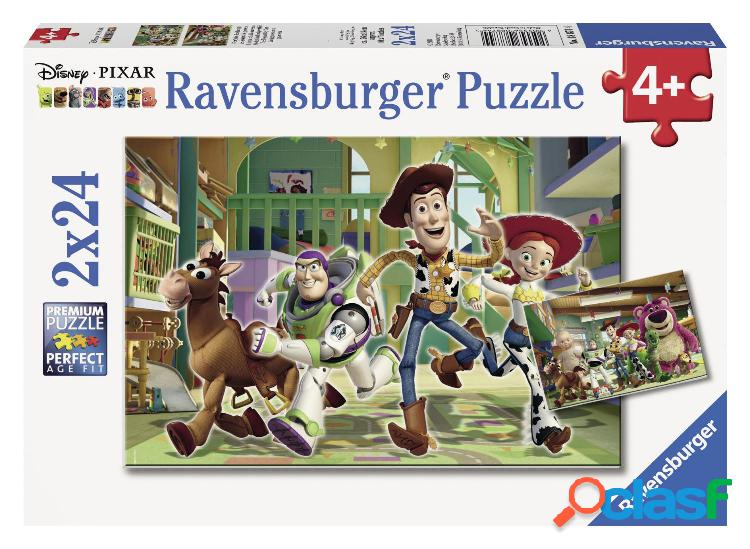 2 puzzles - toy story ravensburger