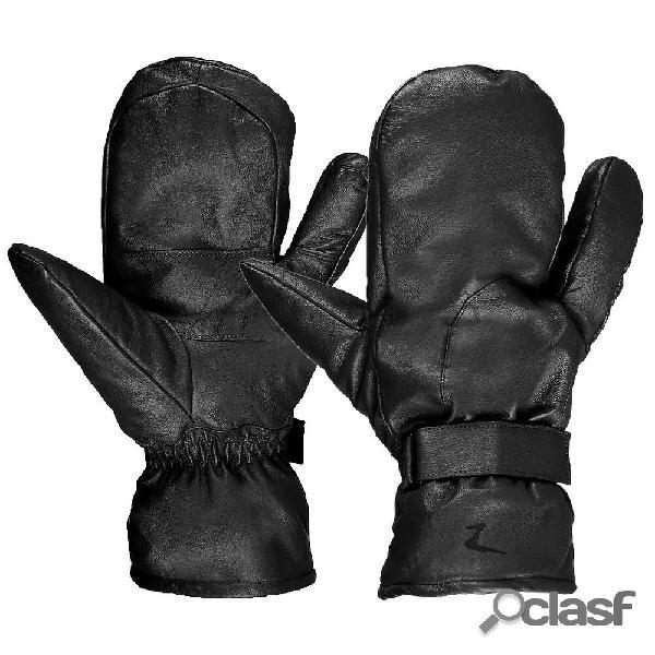 "Moufles cuir ""3 doigts"" horze"