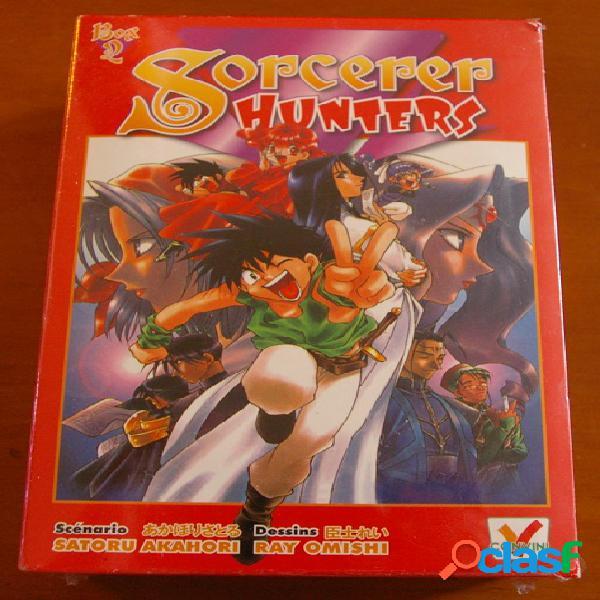 Sorcerer hunters box 2 (n°5 à 8), satoru akahori & ray omishi
