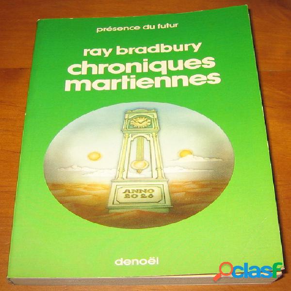 Chroniques martiennes, ray bradbury