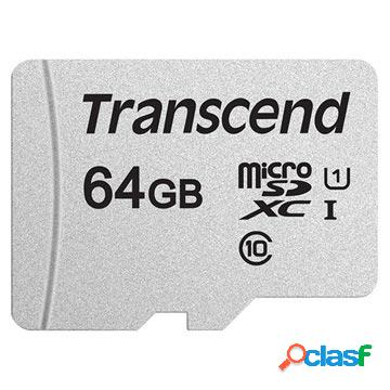 Carte mémoire microsdxc transcend 300s ts64gusd300s - 64go