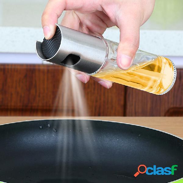 Cuisine vinaigre bouteille distribution d'huile assaisonnement vinaigre bouteille sauce de soja bouteille pulvérisateur cuisine outils