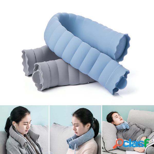 Réchauffeur de main de réchauffeur de main de bouteille de cou de bouteille de silicone d'eau chaude en forme de u avec la couverture tricotée