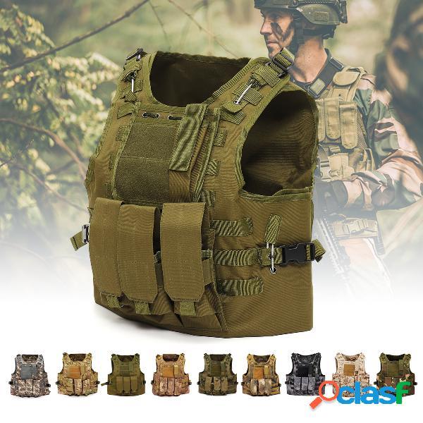 Gilet tactique us forces spéciales fil fantôme gilet de combat amphibie équipement de terrain extérieur