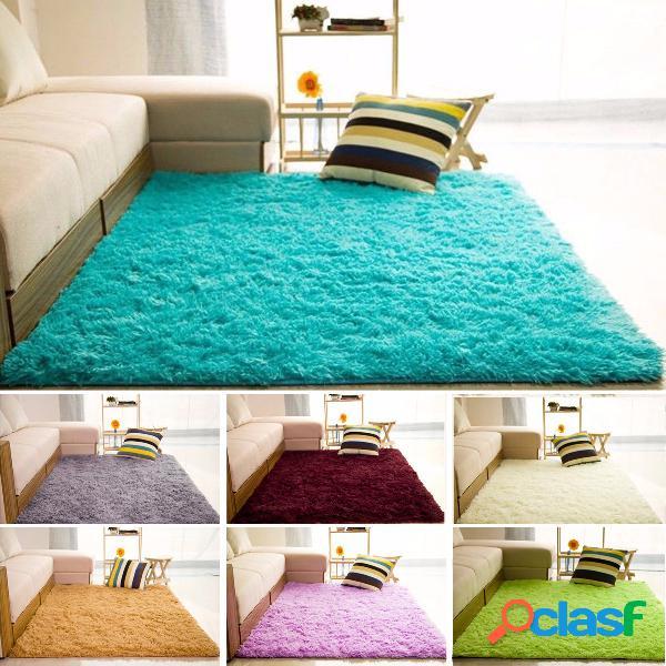 80x200cm grand salon fluffy anti-slip tapis tapis de sol yoga chambre rag rugs shag rugs
