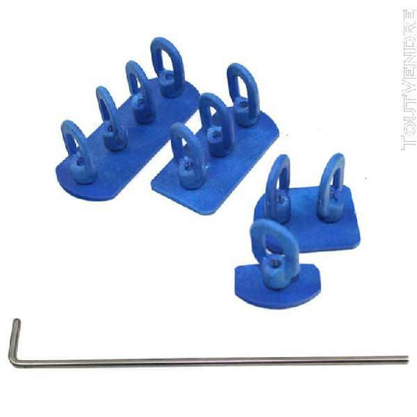 Chicpm onglets de colle à chaîne avec bâtons l kit