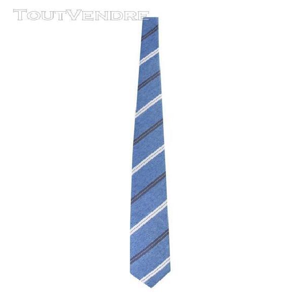 Hugo boss homme 5042932110225484450 bleu soie cravate