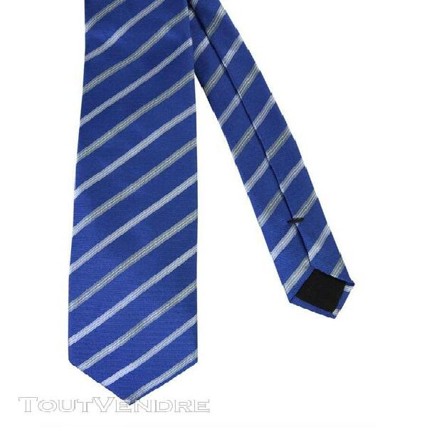 Hugo boss homme 5042954710225427426 bleu soie cravate