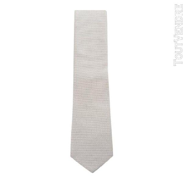 Hugo boss homme 5043013310225443102 beige soie cravate