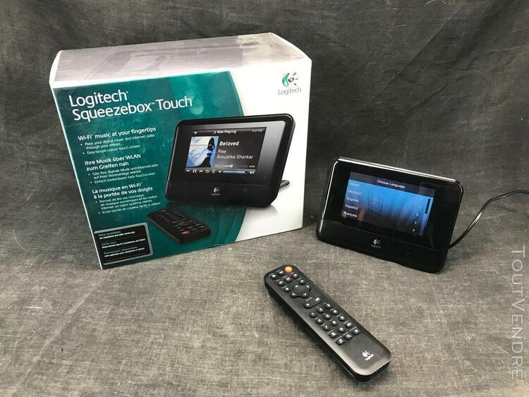 Logitech squeezebox touch /serveur musique wi-fi en parfait