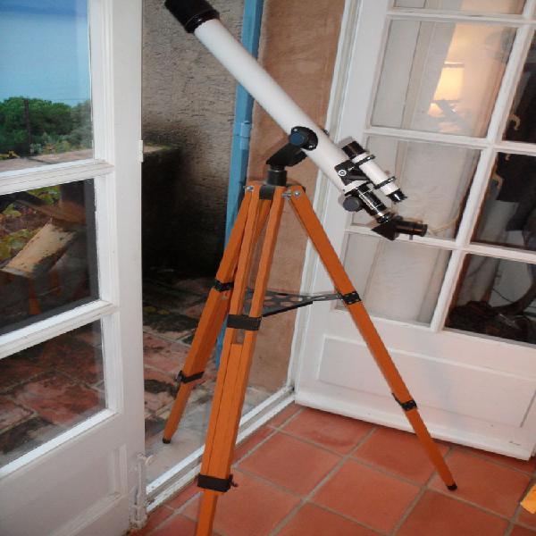 Lunette astronomique 50/600 neuf/revente,