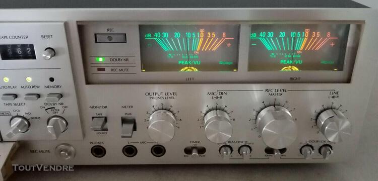 Platine cassette vintage alpage al-300 première main ! very