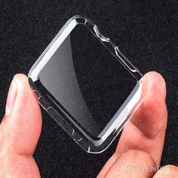 Tui rigide transparent ultra-mince pour apple watch series