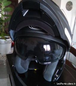 Casque moto, torx helmets, deux en un