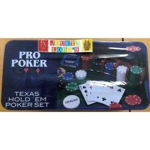 Coffret pro poker boite en metal de chez tactic neuf