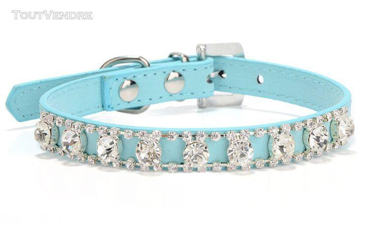 Collier -traumdeutung collier bleu petits chiens chats | acc