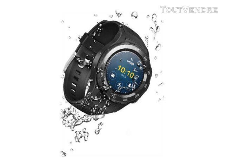 Huawei watch 2 sports - 45 mm - carbone noir - montre intell