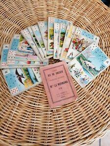 Jeux de cartes anciens tarot secretes de mlle le normand -