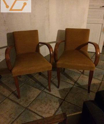 Paires de fauteuils bridges occasion, ussac
