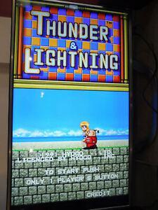 Pcb jamma jeux cafe bar arcade thunder lightning