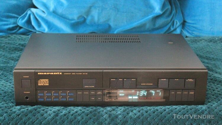 Platine cd vintage marantz cd84, vintage cd player marantz c
