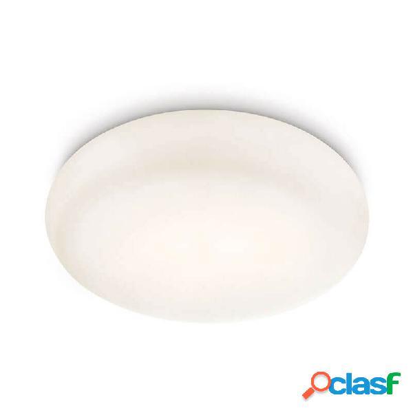 """""""plafonnier rond salle de bain mist d32 cm ip44 - blanc"""""""