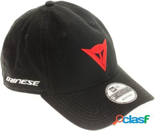 Dainese 9twenty canvas strapback cap, casquettes pour le motard, noir