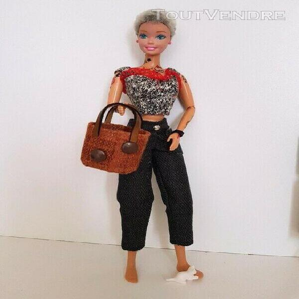 Barbie accessoires - 3 sacs ooak * pour poupée