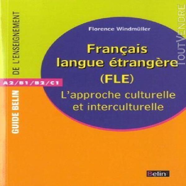 Français langue étrangère (fle) - l'approche culturelle