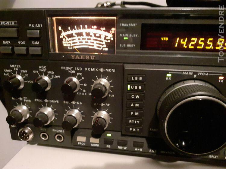 Ham radio yaesu ft1000 - 200w alim incorporé full option fi