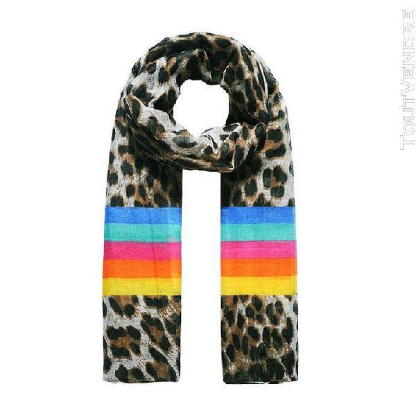 Jewelcity - foulard imprimé - femme (marron) - utjw1351