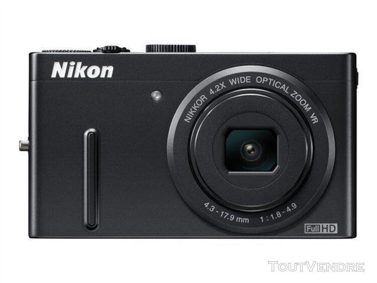 Nikon coolpix p300 compact 12.2 mpix noir