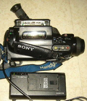 Camescope sony video8 fx-200e à réparer ou piéces