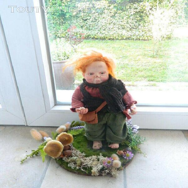 Doll art, julien martinez, artist doll, poupée d'artiste