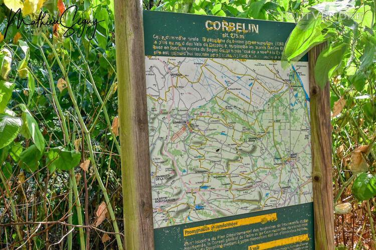 Dpt isère (38), à vendre corbelin terrain - terrain de