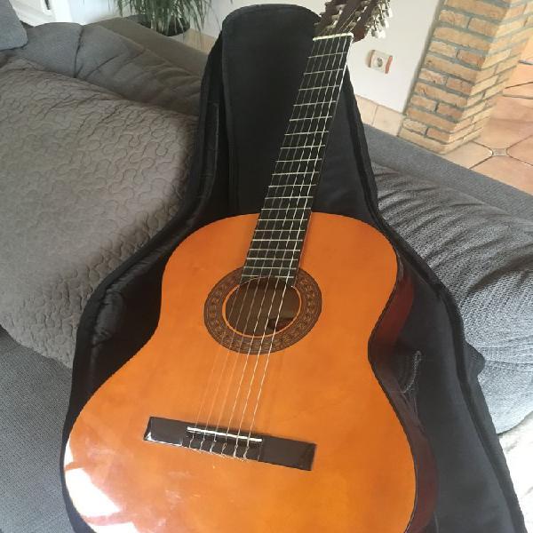 Guitare cordes gaucher occasion, vermelles (62980)