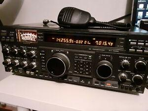 Ham radio yaesu ft1000 - 200w alim incorporé full option