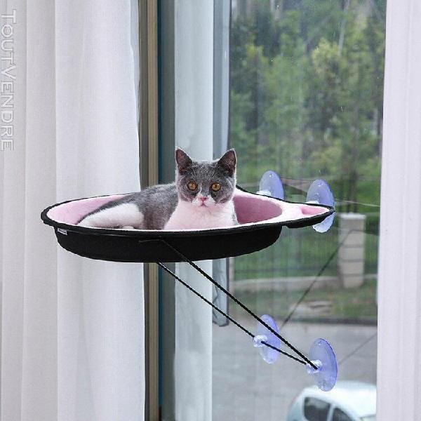 Hamac pour animaux de compagnie de prise de fenêtre