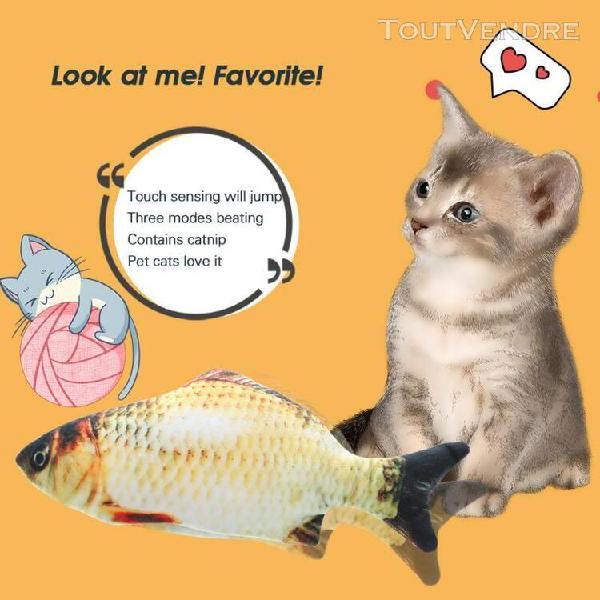 Jouet chat en peluche réaliste chat jouets animaux en