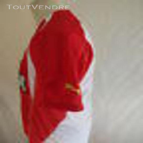Maillot de football vintage as monaco n° 2 porté? puma