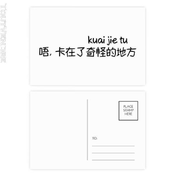 Mots chinois montre que les vid¿¿os... carte ¿¿tablie