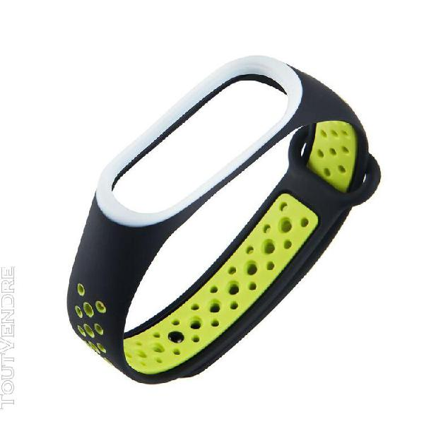 Pour xiaomi mi band 4 bracelet bracelet sports dragonne remp