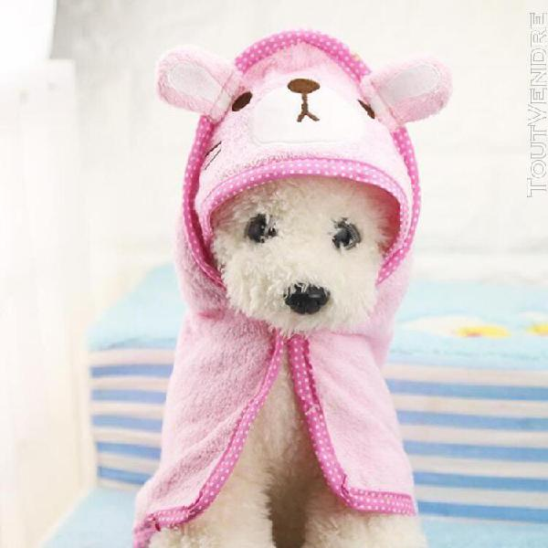 Serviette de bain super absorbante pour animaux serviette de